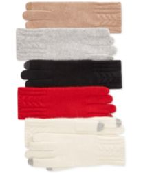 Charter Club Cashmere Cable-Knit Hat, Gloves & Scarf, Created for Macy's