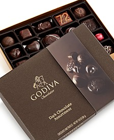 Godiva Large Dark Assortment, 27-Piece