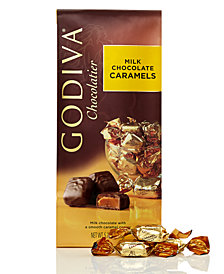 Godiva Individually Wrapped Milk Chocolate Caramel Truffles