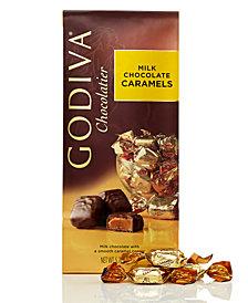 Godiva Individually Wrapped Milk Chocolate Caramel Truffles