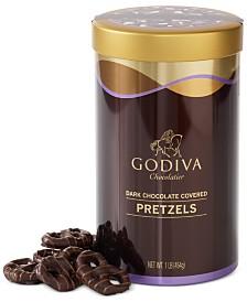 Godiva Dark Chocolate Pretzel Tin