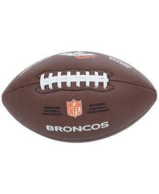 Wilson Sport Denver Broncos Composite Football