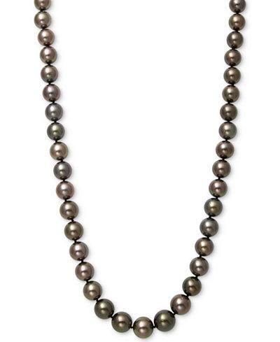 Belle de Mer Cultured Tahitian Pearl (9mm) Strand 17.5