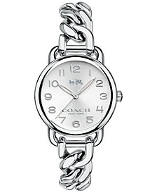COACH WOMEN'S DELANCEY STAINLESS STEEL BRACELET WATCH 28mm 14502259