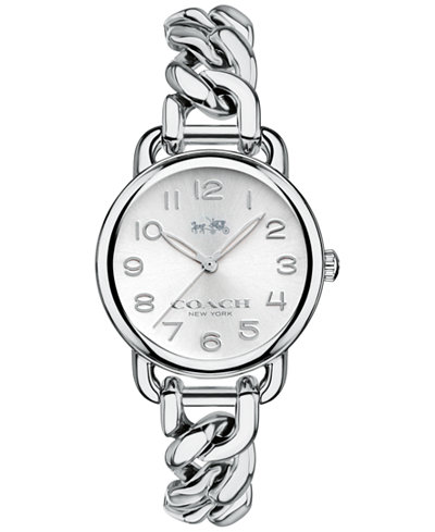COACH WOMEN'S DELANCEY STAINLESS STEEL BRACELET WATCH 28mm 14502259