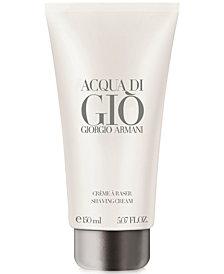 Giorgio Armani Acqua di Giò Shaving Cream, 5.1 oz