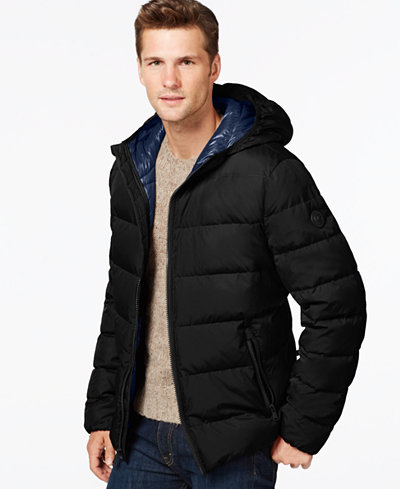 MICHAEL Michael Kors Down Jacket - Coats & Jackets - Men - Macy's