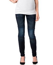 Indigo Rein Maternity Skinny Jeans, Dark Wash