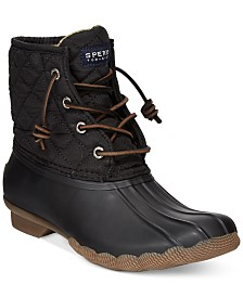 Sperry Women's Saltwater Quilted Duck Booties
