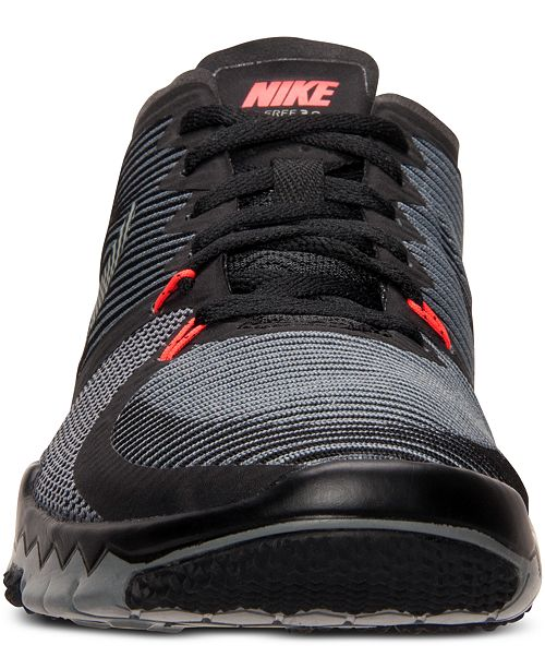 bd6ee8266feae Nike Men s Free Trainer 3.0 V4 Training Sneakers from Finish Line ...