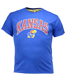 J America Men's Kansas Jayhawks Midsize T-Shirt