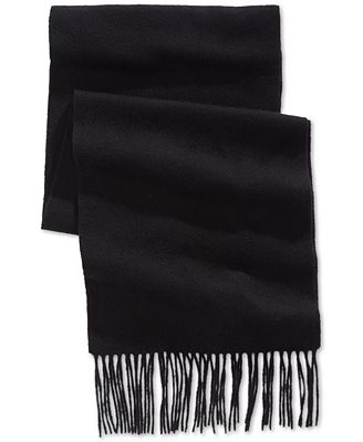 Club Room Solid Cashmere Scarf, Created for Macy's