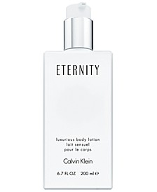 ETERNITY Luxurious Body Lotion, 6.7 oz
