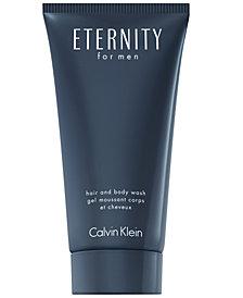 Calvin Klein ETERNITY for Men Hair and Body Wash, 6.7 oz