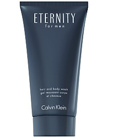 Calvin Klein ETERNITY for Men Hair and Body Wash, 6.7 oz