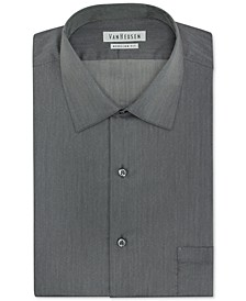 Men's Classic-Fit Herringbone Dress Shirt