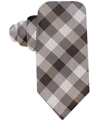 seacrest distinction glendale gingham slim tie only