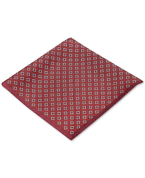 Pacific Geo Pocket Square, Created for Macy's