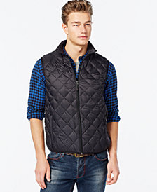 Hawke & Co. Outfitters Men's Packable Quilted Vest