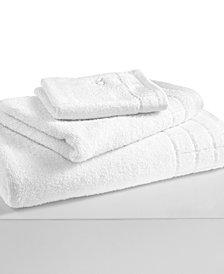 """Calvin Klein Sculpted Grid 16"""" x 30"""" Hand Towel"""