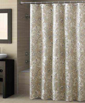 croscill natalia shower curtain - bathroom accessories - bed
