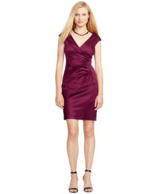 ... Ralph Lauren Rosy Mesh Polo Sexy Collar Dress ...