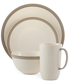 Vera Wang Wedgwood Dinnerware Gradients Linen Collection