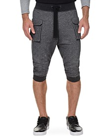 Athleisure Men's Cropped Cargo Pants