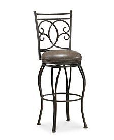 Nadia Bar Height Bar Stool, Quick Ship