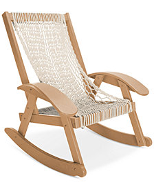 Coastal  Duracord Cedar Rocker Hammock, Quick Ship