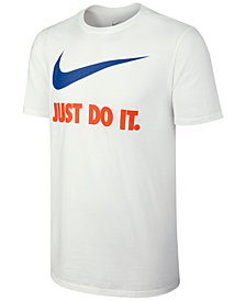 Nike Men's Just Do it Swoosh T-Shirt