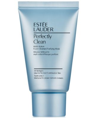 Perfectly Clean Multi-Action Foam Cleanser/Purifying Mask, 1 oz