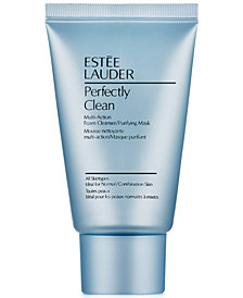Estée Lauder Perfectly Clean Multi-Action Foam Cleanser/Purifying Mask, 1 oz