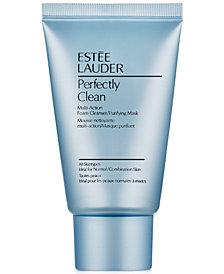 Estée Lauder Perfectly Clean Multi-Action Foam Cleanser/Purifying Mask, 1 oz