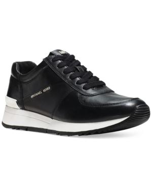 Michael Michael Kors Allie Wrap Trainer Sneakers Womens Shoes