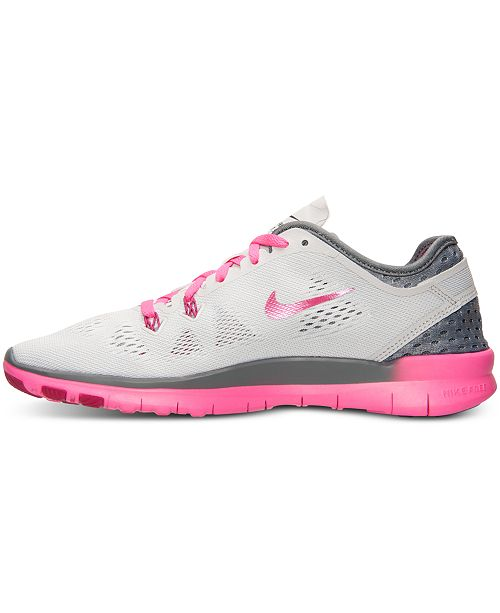 best sneakers 89ed9 3304c ... Nike Women s Free 5.0 TR Fit 5 Breathe Training Sneakers from Finish  Line ...