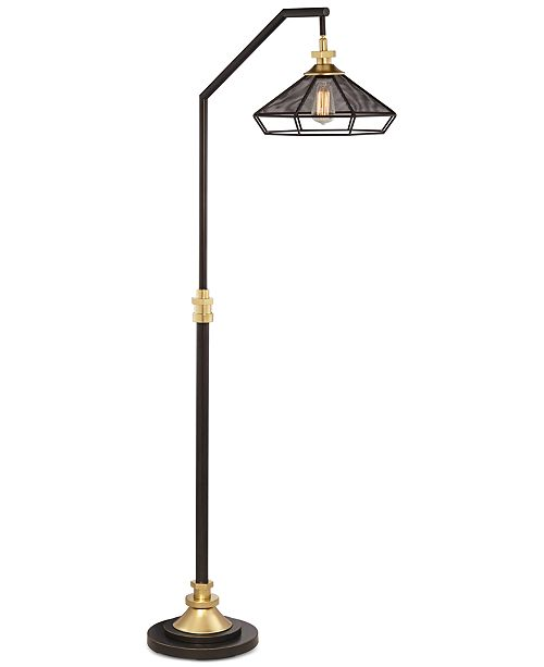 Pacific coast downbridge floor lamp lighting lamps home macys main image aloadofball Images
