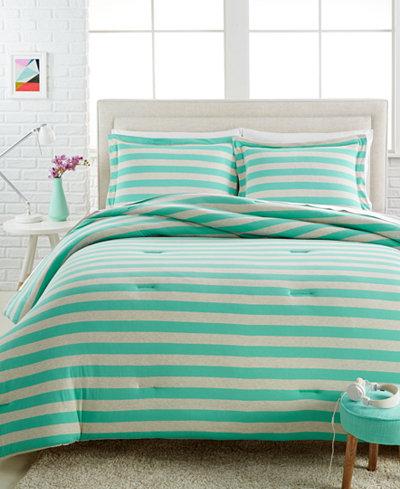 CLOSEOUT! Ella 3-Pc. Full/Queen Jersey Comforter Set