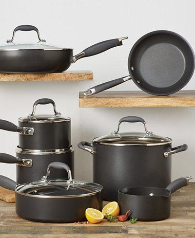 Anolon Advanced Hard-Anodized 12-Pc. Cookware Set