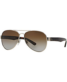 Polo Ralph Lauren Polarized Sunglasses, PH3096