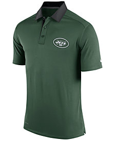 Nike Men's New York Jets Elite Coaches Polo