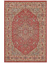 CLOSEOUT! Momeni Voyage Heriz Red Area Rugs