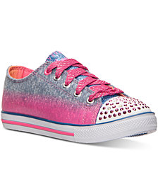 Skechers Little Girls' Twinkle Toes: Chit Chat - Sweet Surprise Casual Sneakers from Finish Line