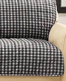 Velvet Deluxe Pet Armless Sofa Slipcover with Sanitize Odor Release