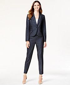 Anne Klein Denim Blazer & Denim Suiting Pants