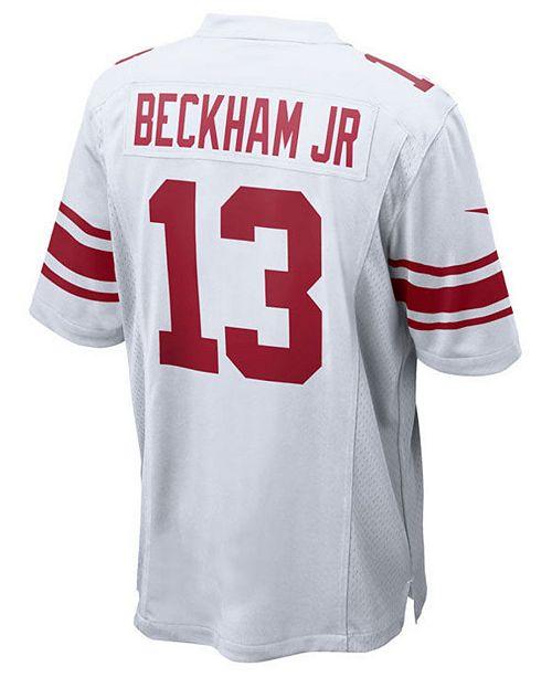 ... Nike Odell Beckham Jr. New York Giants Game Jersey 7445f42a8