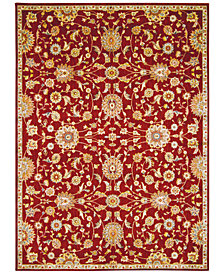 "kathy ireland Home Ancient Times Ancient Treasures Red 3'9"" x 5'9"" Area Rug"