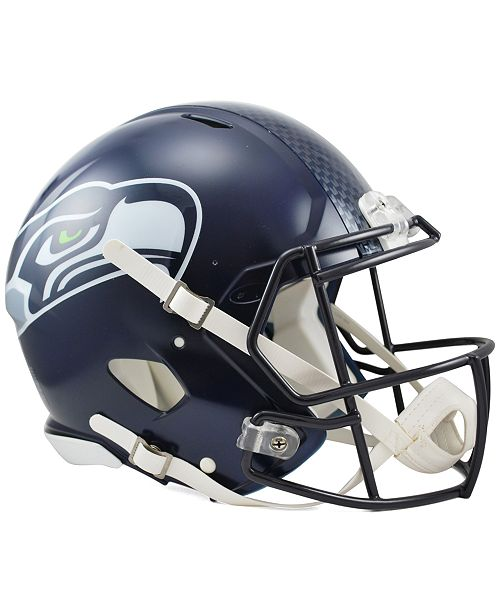 official photos 39955 e40c5 Riddell Seattle Seahawks Speed Authentic Helmet & Reviews ...