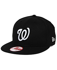 Washington Nationals B-Dub 9FIFTY Snapback Cap