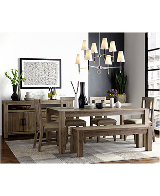 Shop The Trend Rustic Dining Sets Furniture Macy s